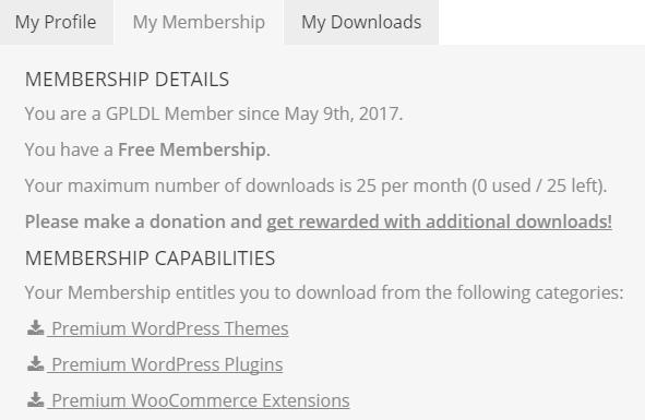 membership GPLDL