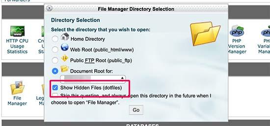 Nguyên nhân bạn không thể tìm thấy tệp .htaccess trên trang web WordPress của bạn
