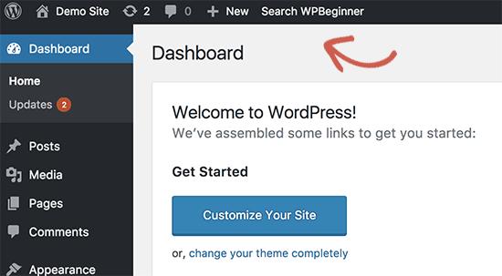 Những điều nên biết về WordPress Admin Bar