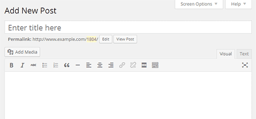 Trình chỉnh sửa trực quan WordPress