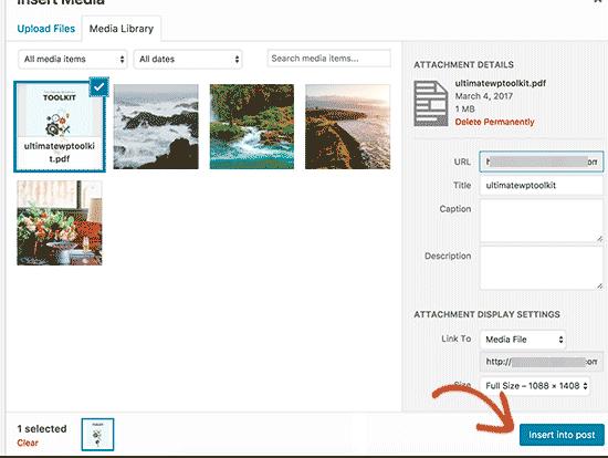 Cung cấp tiêu đề và chú thích cho tệp PDF của bạn