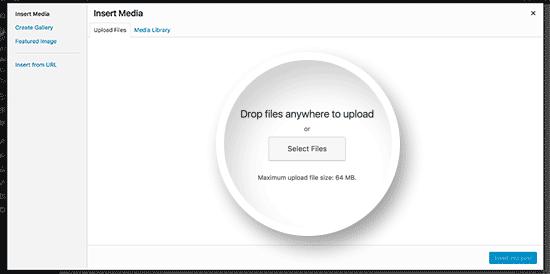Chọn tệp PDF bạn muốn tải lên