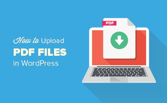 Cách tải lên tệp PDF trong WordPress