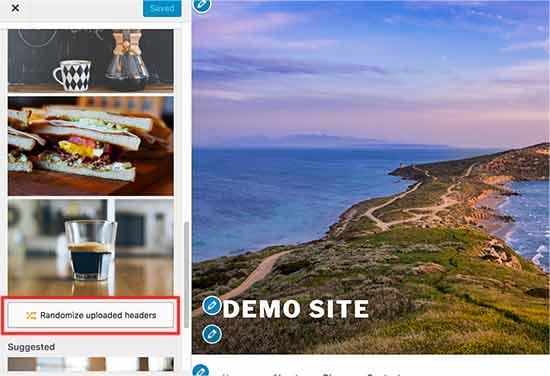 Chọn ngẫu nhiên hình ảnh tiêu đề trong WordPress