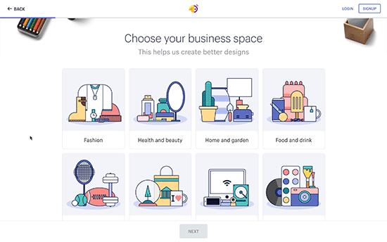 Không gian kinh doanh
