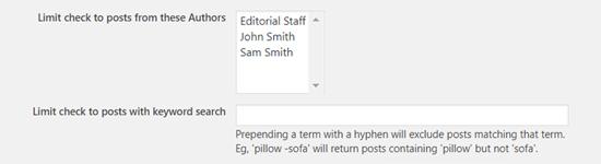 Chọn tác giả để lên lịch đăng bài trong WordPress