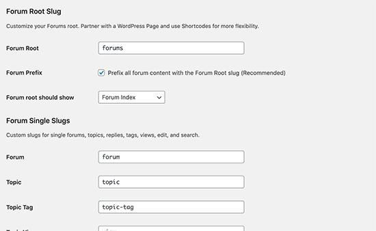 Thay đổi sên URL diễn đàn