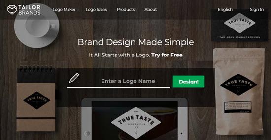 Nhà sản xuất logo của thương hiệu thợ may
