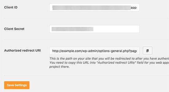 Lưu thông tin đăng nhập của khách hàng trong cài đặt plugin