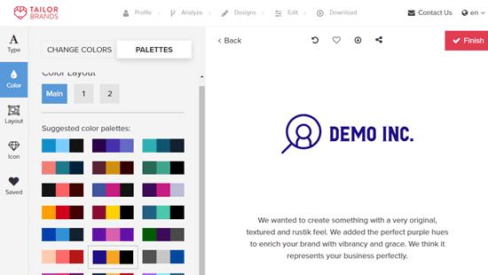 Thay đổi màu sắc của logo của bạn