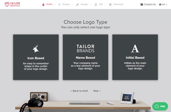 Chọn loại logo của bạn