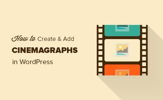 Tạo các đoạn phim cho trang web WordPress của bạn