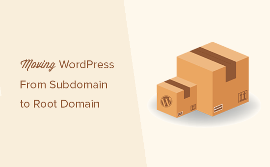 Moving a WordPress site from subdomain to root domain