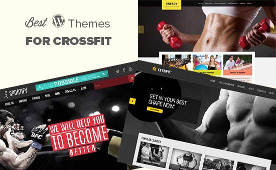 Các chủ đề WordPress tốt nhất cho crossfit