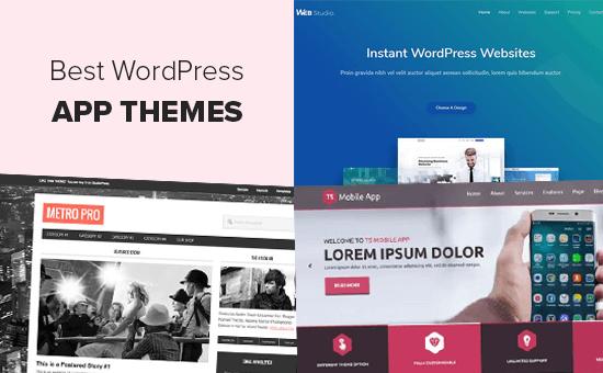 Chủ đề WordPress tốt nhất cho ứng dụng