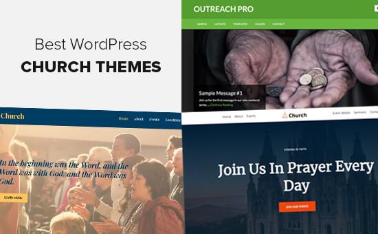 Chủ đề WordPress Giáo hội Tốt nhất