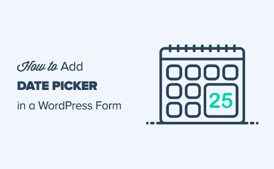 Adding a date picker to a WordPress form