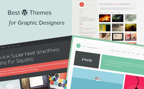 Best WordPress themes for graphic designers