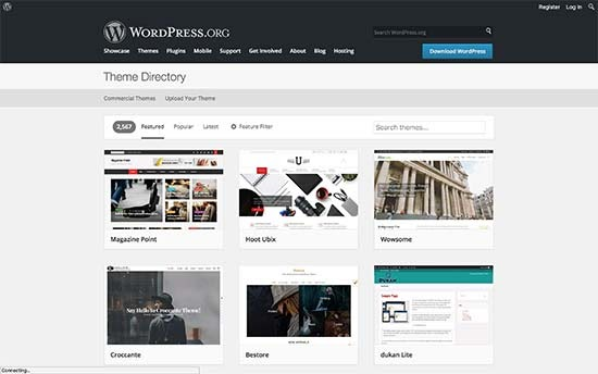 Chủ đề WordPress.org