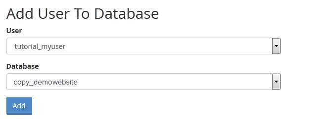 Thêm người dùng vào cơ sở dữ liệu