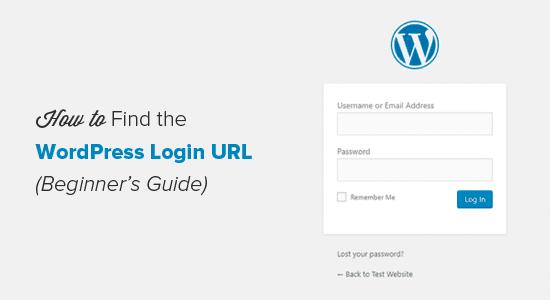Cách tìm URL trang đăng nhập WordPress