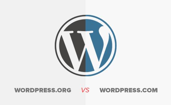 WordPress.org tự lưu trữ so với WordPress.com miễn phí