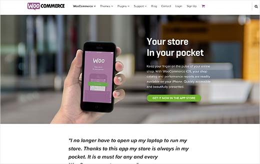 WooCommerce iOS app