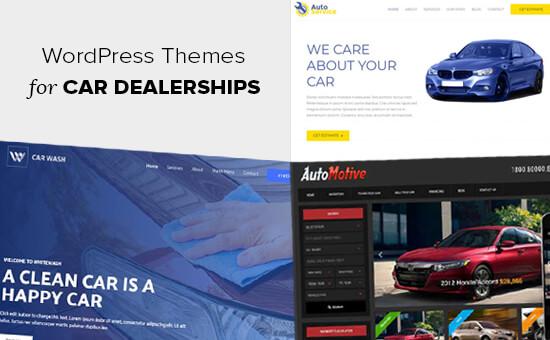 Chủ đề WordPress cho các đại lý ô tô