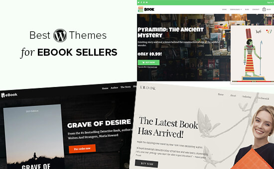 Chủ đề WordPress tốt nhất để bán sách điện tử
