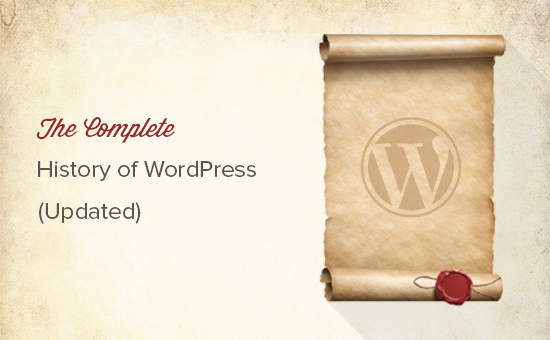 Lịch sử hoàn chỉnh của WordPress (Đã cập nhật)