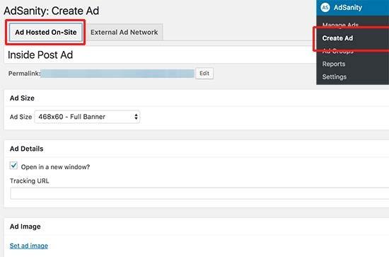 Tạo quảng cáo được lưu trữ