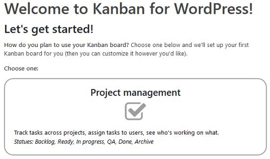 Bảng Kanban cho Plugin WordPress - Các loại Bảng Kanban