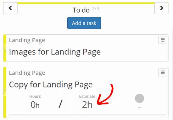 Bảng Kanban dành cho Plugin WordPress - Xác định Nhiệm vụ, Ước tính