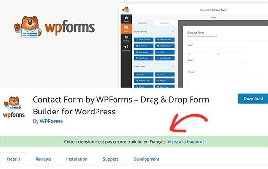 Giúp dịch thông báo plugin trên WordPress.org