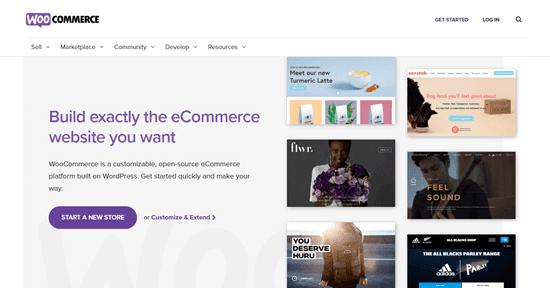 Trang web WooCommerce