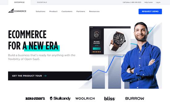Trang web BigCommerce