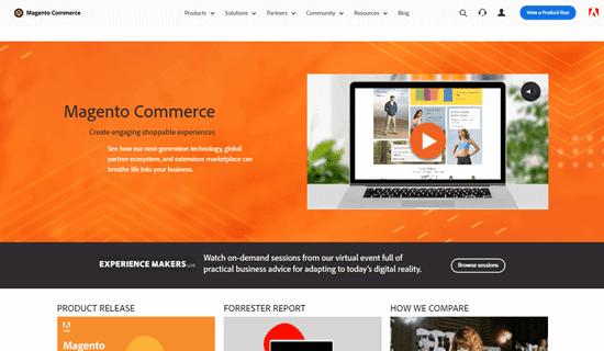 Trang web Magento