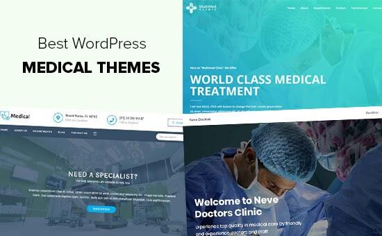 Chủ đề WordPress y tế và sức khỏe tốt nhất